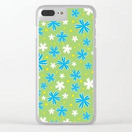 Petal Power Clear iPhone Case