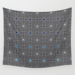 Mesh pattern Wall Tapestry
