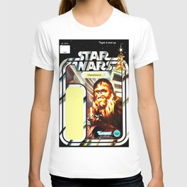 Chewbacca Vintage Action Figure Card T-shirt