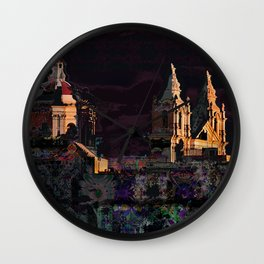 mdina by night Wall Clock