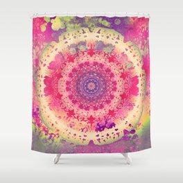 Anenome Mandala Shower Curtain