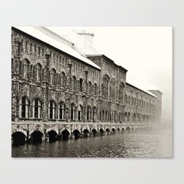Soo Hydroelectric plant Canvas Print