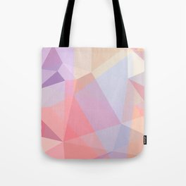 Powder Geometry - bright Tote Bag