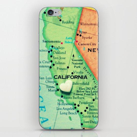 Cali iPhone & iPod Skin