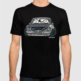 Crazy Car Art 0157 T-shirt