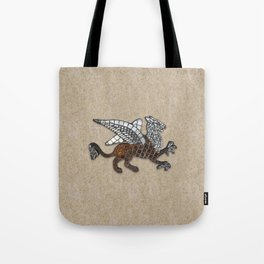 Mosaic Griffin Tote Bag