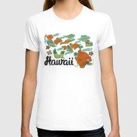 hawaii T-shirts featuring HAWAII by Christiane Engel