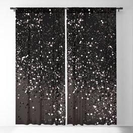 Blush Gray Black Lady Glitter #2 #shiny #decor #art #society6 Blackout Curtain