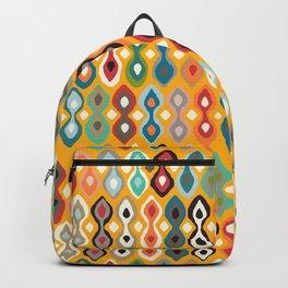 brocade saffron Backpack