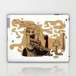 Train Mouth Mc Gregor Laptop & iPad Skin