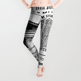 Back To The Future Leggings
