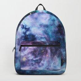 Tarantula Nebula Lavender Blue Dream Backpack