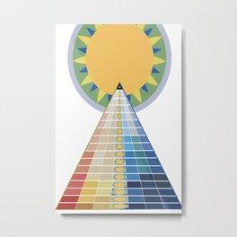 Temple of the Sun Metal Print