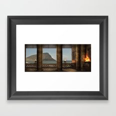 Oriel Framed Art Print