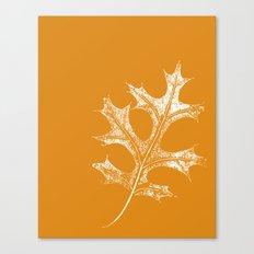 STATIONERY CARD - Autumn Leaf Canvas Print