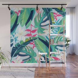 Tropical Eye Candy #painting #illustration #nature Wall Mural
