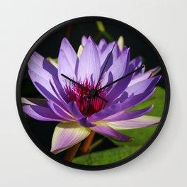 Purple Beauty Wall Clock