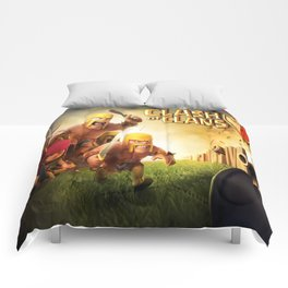 clash of clans Comforters