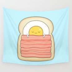 bed and breakfast Wall Tapestry