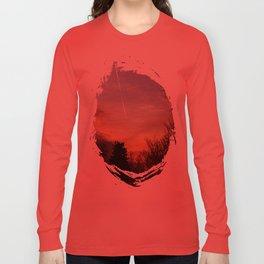 Sunset Streak Long Sleeve T-shirt