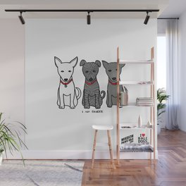 3 Musketeers, I Love Bali Dogs Wall Mural