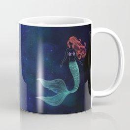 chalk mermaid Coffee Mug