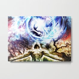 I am a Son of Earth and Starry Heaven Metal Print