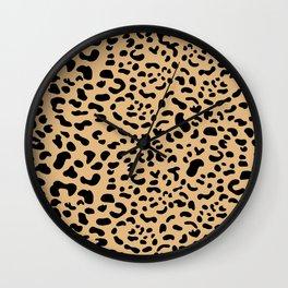 Leopard print - Earth Wall Clock