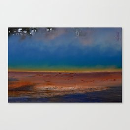The Wonder of the Great Prismatic Spring Canvas Print
