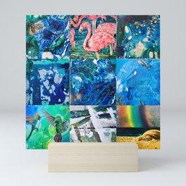 Environmental Tropical Oceans and Animals Mini Art Print