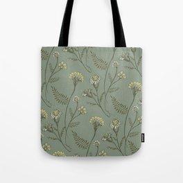 Dazed - Floral Pattern Tote Bag