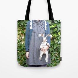 Cozy Bunny Tote Bag