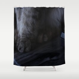 demurely yours Shower Curtain