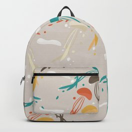 Jellyfish ascend the sky Backpack