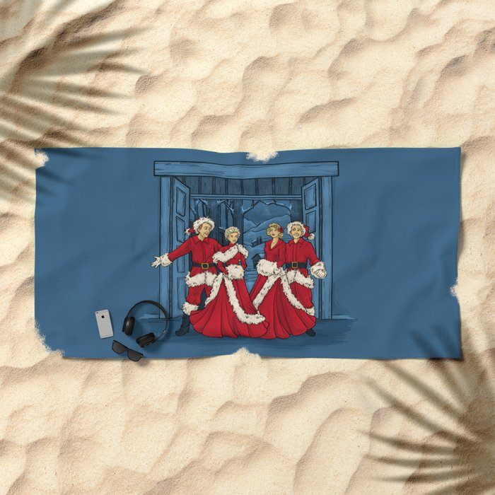 May Your Days be Merry and Bright Beach Towel