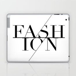 fashion typography Laptop & iPad Skin