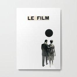 Le Film Metal Print
