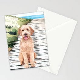 Doodle at the Beach Stationery Cards