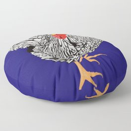 Chicken Floor Pillow