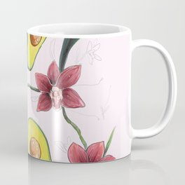 Avocados & Orchids Coffee Mug