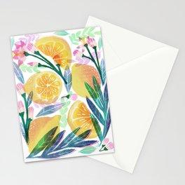 Naranjas y limas  Stationery Cards