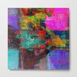 Abstract OMEGA Metal Print