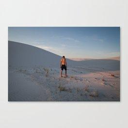White Sands, NM Canvas Print