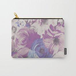 VINTAGE FLOWER3 Pop Art Carry-All Pouch