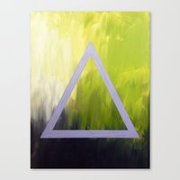 alt j Canvas Prints featuring Alt-J tribute by amberino