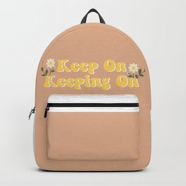 Keep on keeping on Backpack