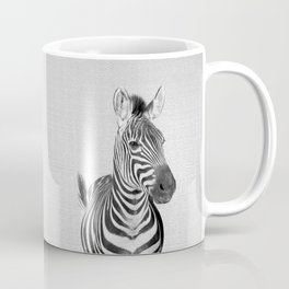 Zebra 2 - Black & White Coffee Mug