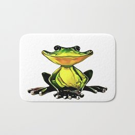 Jon Jade - The Cambodian Tree Frog Bath Mat