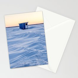 The fishing cabin Stationery Cards