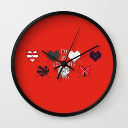 Scott Pilgrim vs. The World - Scott Wall Clock
